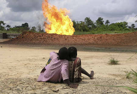 Gas-flaring-in-africa