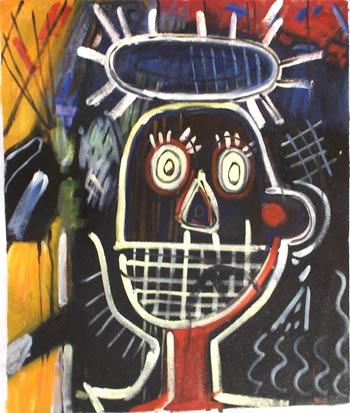 Basquiat-Ritratto