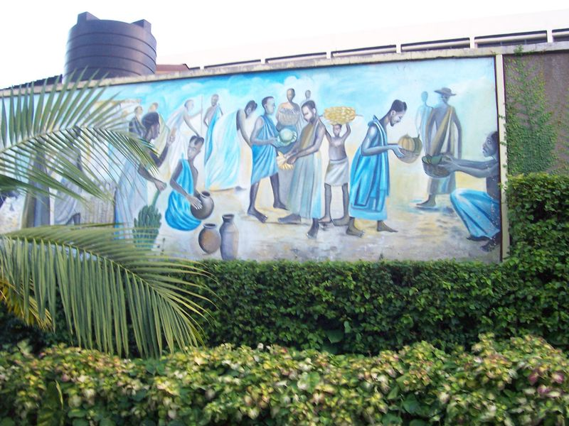 Rwanda-kigali-ecobank-local-artist-painting