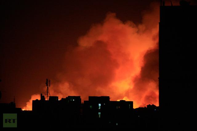 Fire-engulf-yarmouk-ammunition