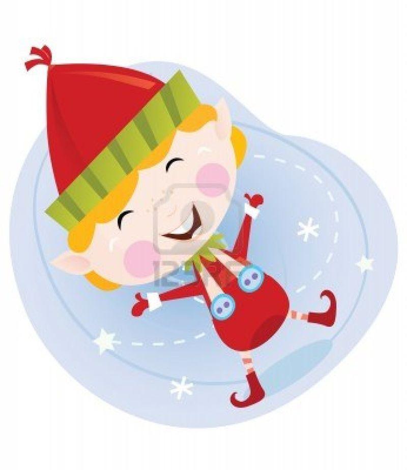 6001773-santa-natale-elfo-in-costume-rosso-carino-natale-elfo-in-rosso-vettore-di-fumetto-illustrazione