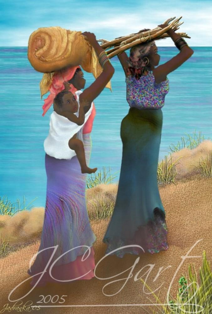 Contemporaryfineart-going-home-africa
