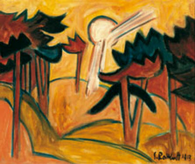 Schmidt Rottluff, Sole sulla pineta, Madrid, 1913