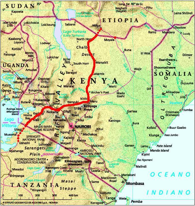 Malindi Cartina Geografica.Jambo Africa Kenya Per Uhuru Kenyatta Ferrovia A Sostegno Del Processo Di Sviluppo
