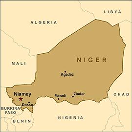 Map-niger