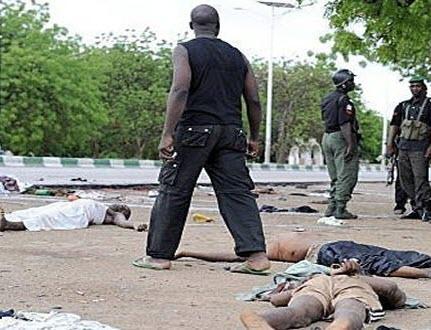 Boko haram attack on damboa ii