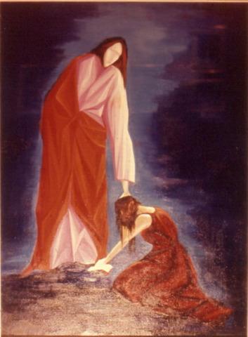Gesù-e-ladultera